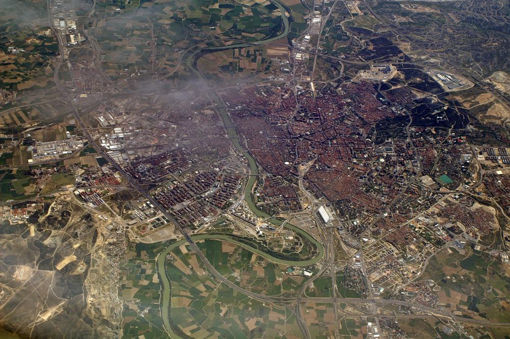 Ueberflug Zaragoza 11'000m ü.M.