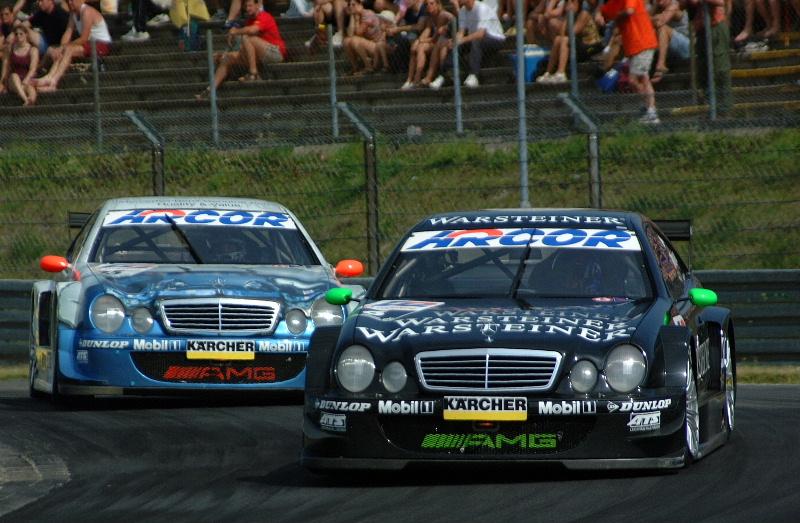 Überholmanöver am Nürburgring 2001 (DTM)