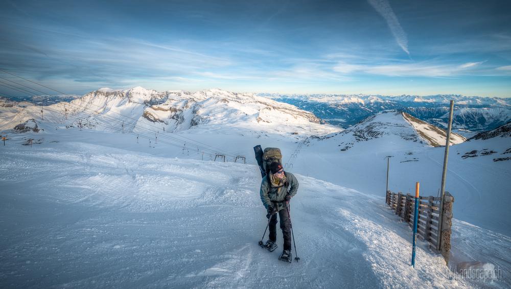 ^ Überlebenskampf auf 3000m: Der Aufstieg ^