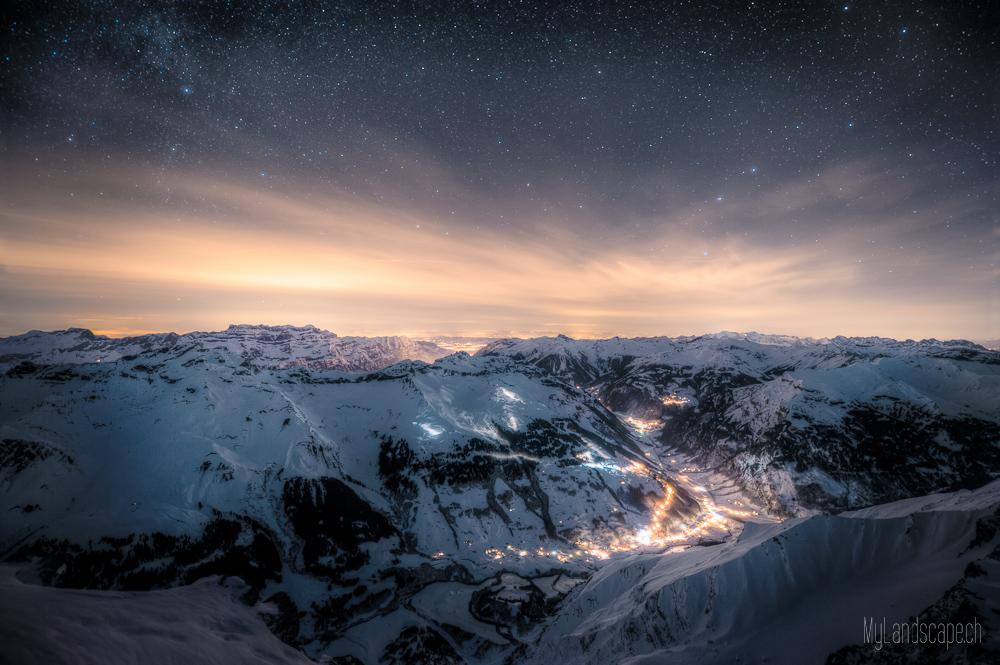 ^ Überlebenskampf auf 3000m: Elm by night ^