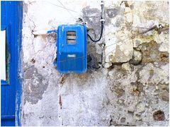 Überlebenskampf eines kretischen Stromzählers