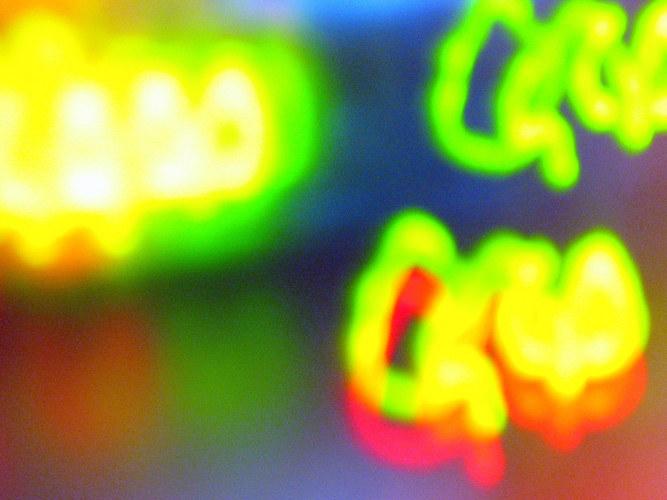 Übermut - Lichtversuche
