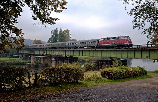 Über´n Buckel 2007 - Über den Neckar in Jagstfeld