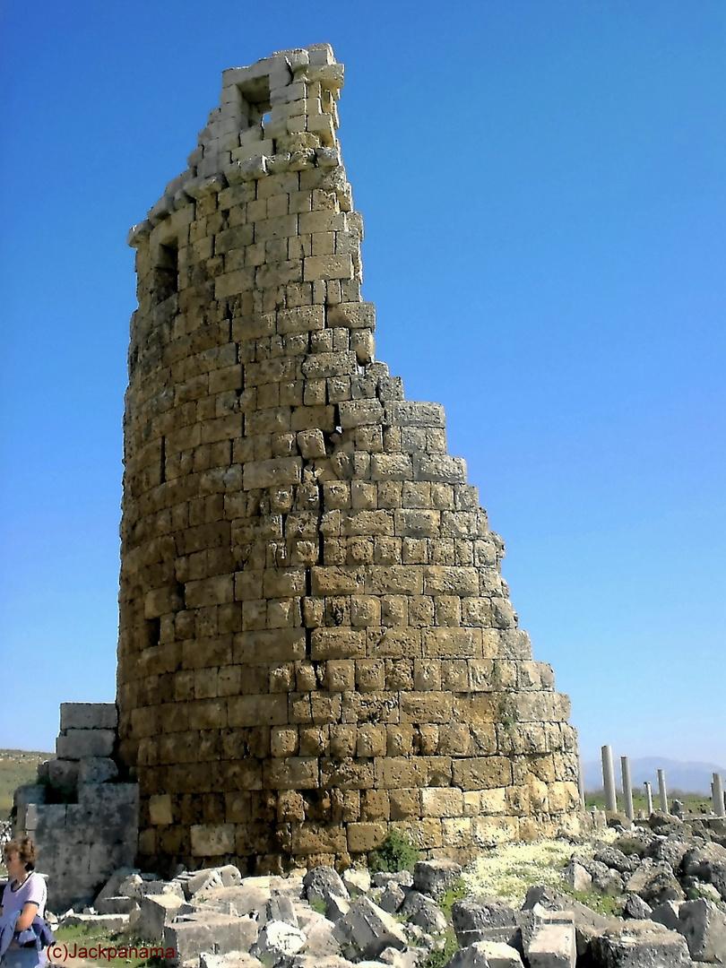Überreste der Antiken, an der Ägäis