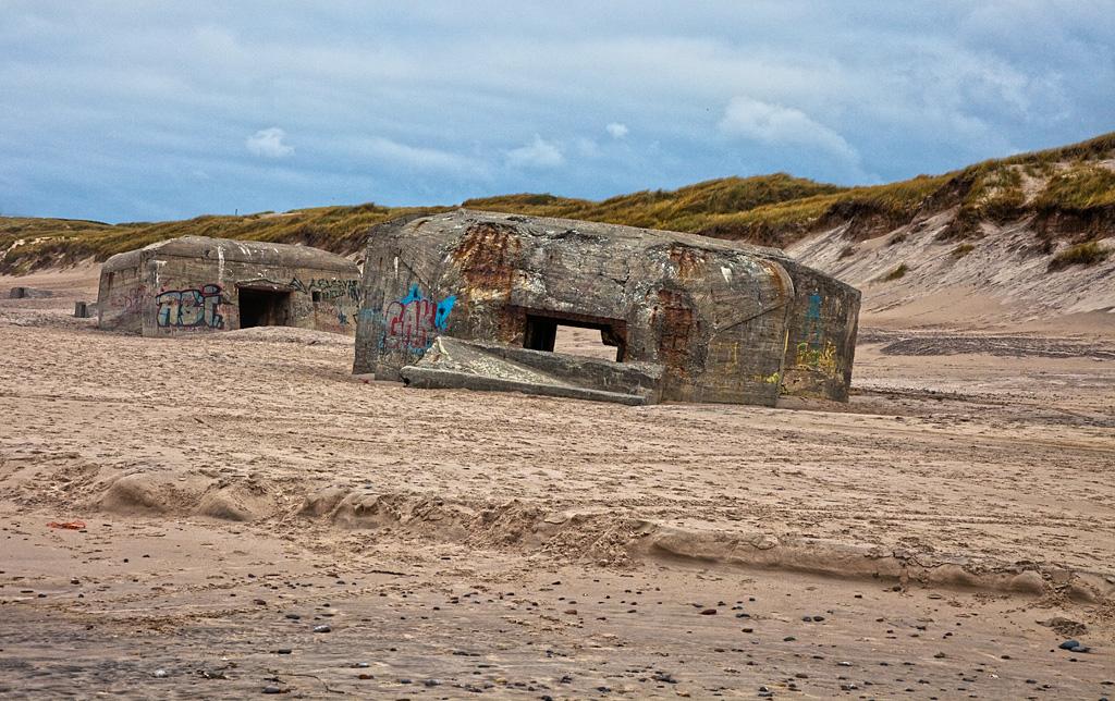 Überreste des Atlantikwall in DK