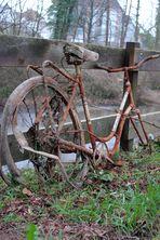 Überreste eines Fahrrads