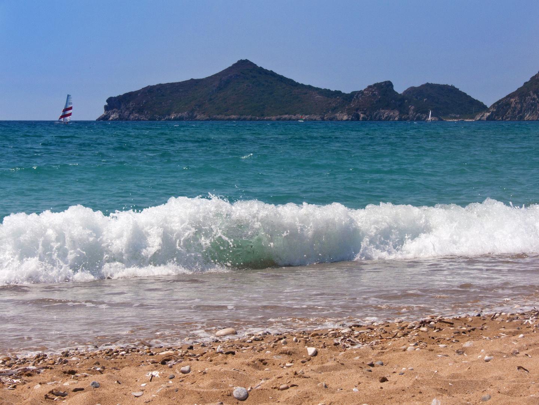 Überschlagende Welle