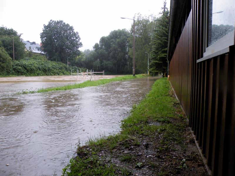 Überschwemmung 07.08.10 in Bautzen(1)