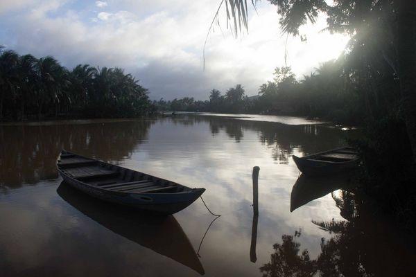 Überschwemmung Nahe Hoi An
