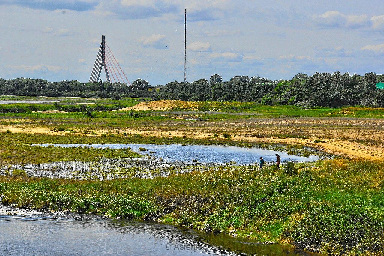 Überschwemmungsgebiet - Lippedelta - Wesel