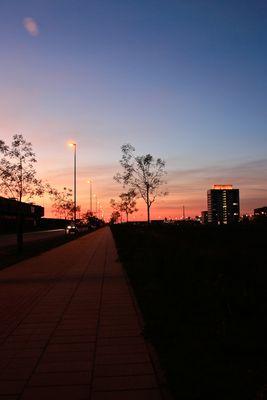 Überssestadt Sommerabend 2009