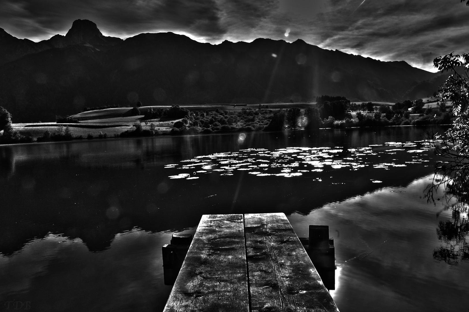 Uebeschi See mit Stockhorn