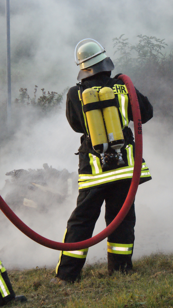Übungseinsatz der Freiwilligen Feuerwehr