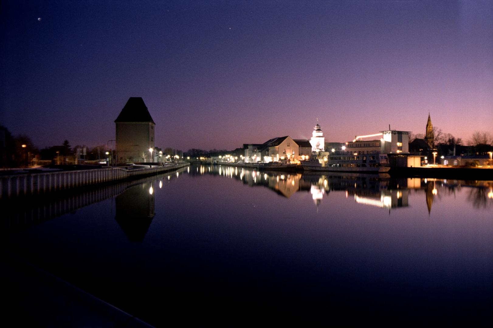 Ueckermünder Hafen