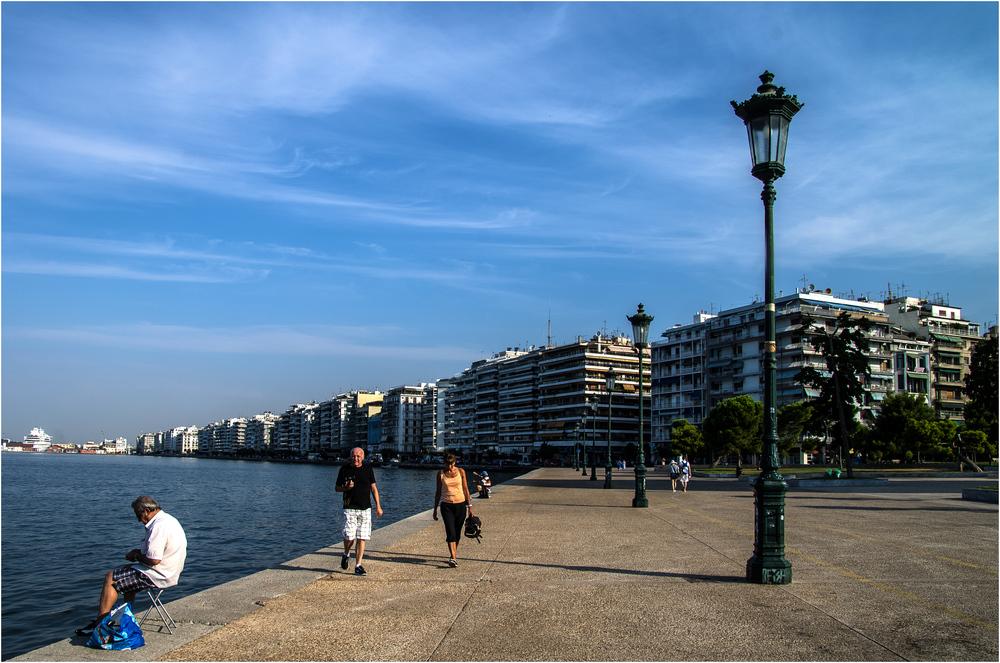 Uferpromenade Thessaloniki ...