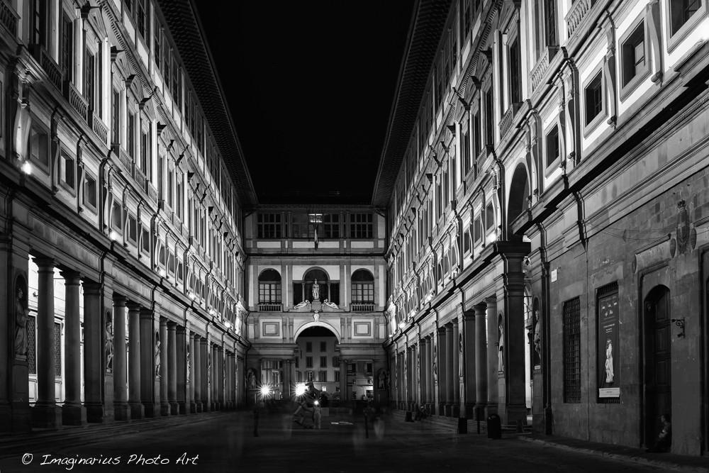 Uffizi in Florenz / Toskana