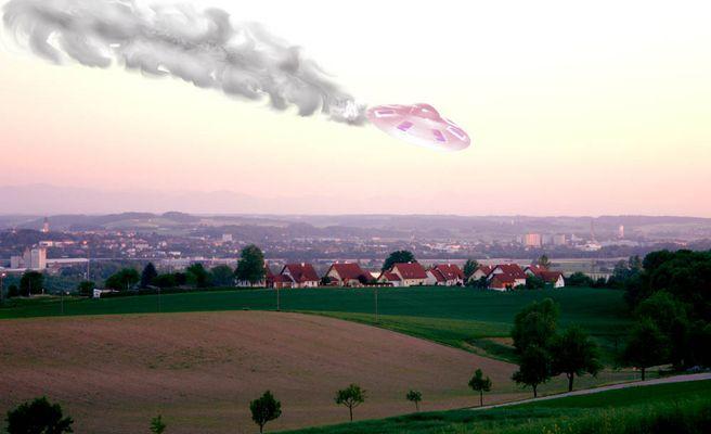 Ufo-Absturz über Oberösterreich