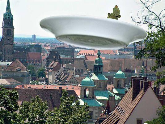 UFO-Sichtung über Nürnberg