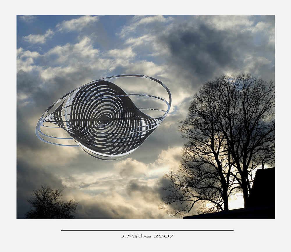 UFO über Malbergen ...