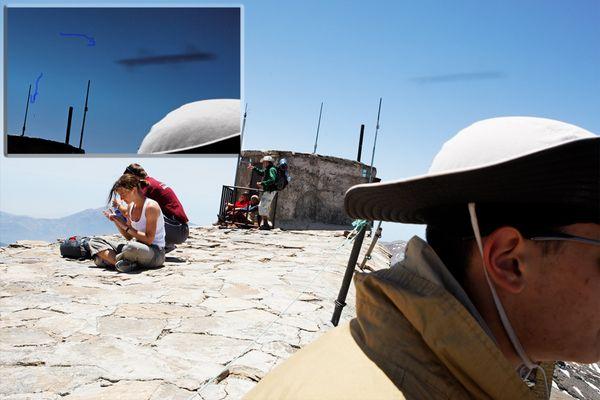 UFO über Sierra Nevada