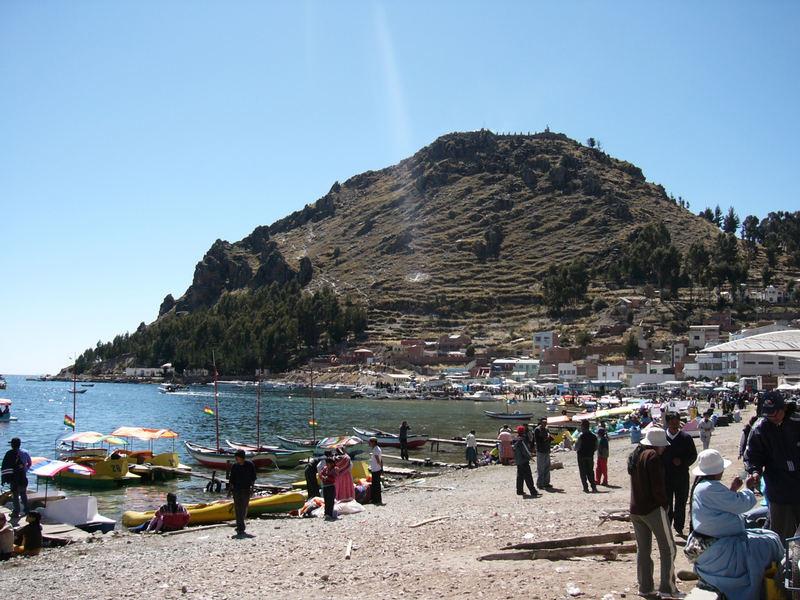 Ufos am Titicacasee...