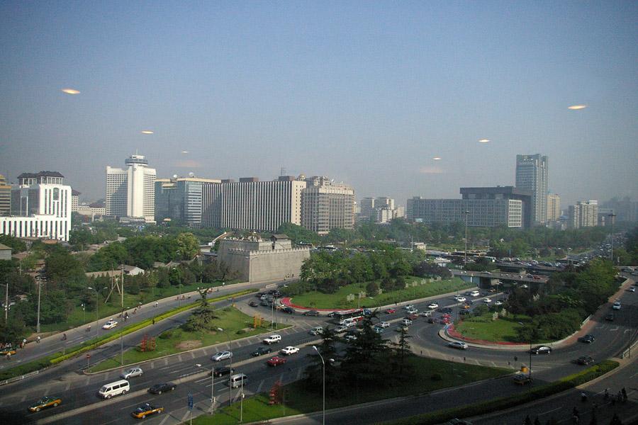 Ufos über Peking