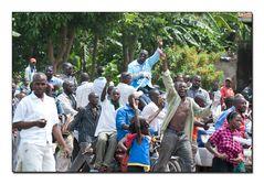 Uganda Demonstration Besigye