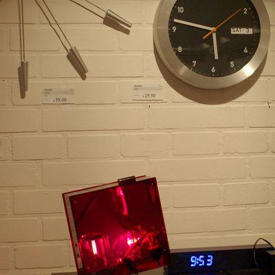 Uhren bei Habitat 100% Crop der Nikon D200