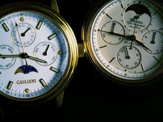Uhren im Gleichklang