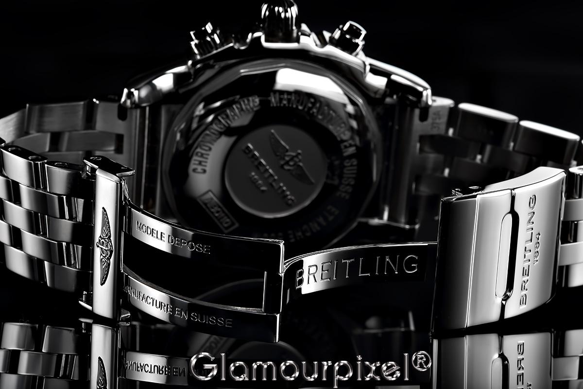 Uhrenfotografie von hinten