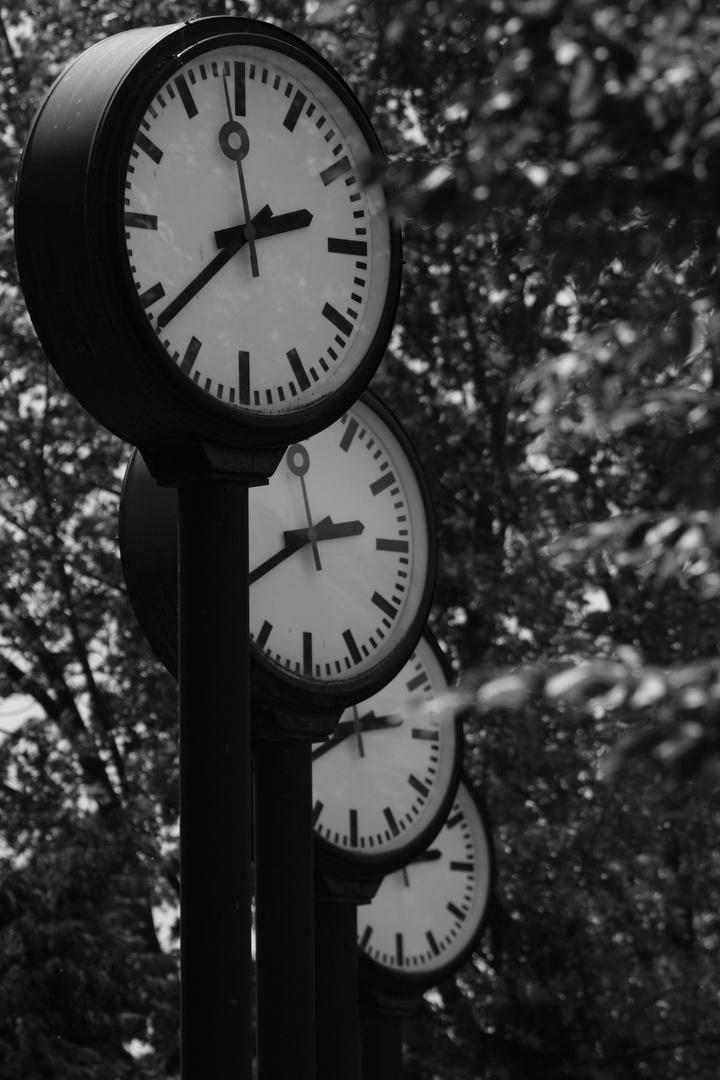 Uhrenparade