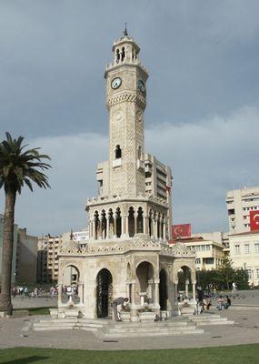 UHRTURM in IZMIR/TURKEI