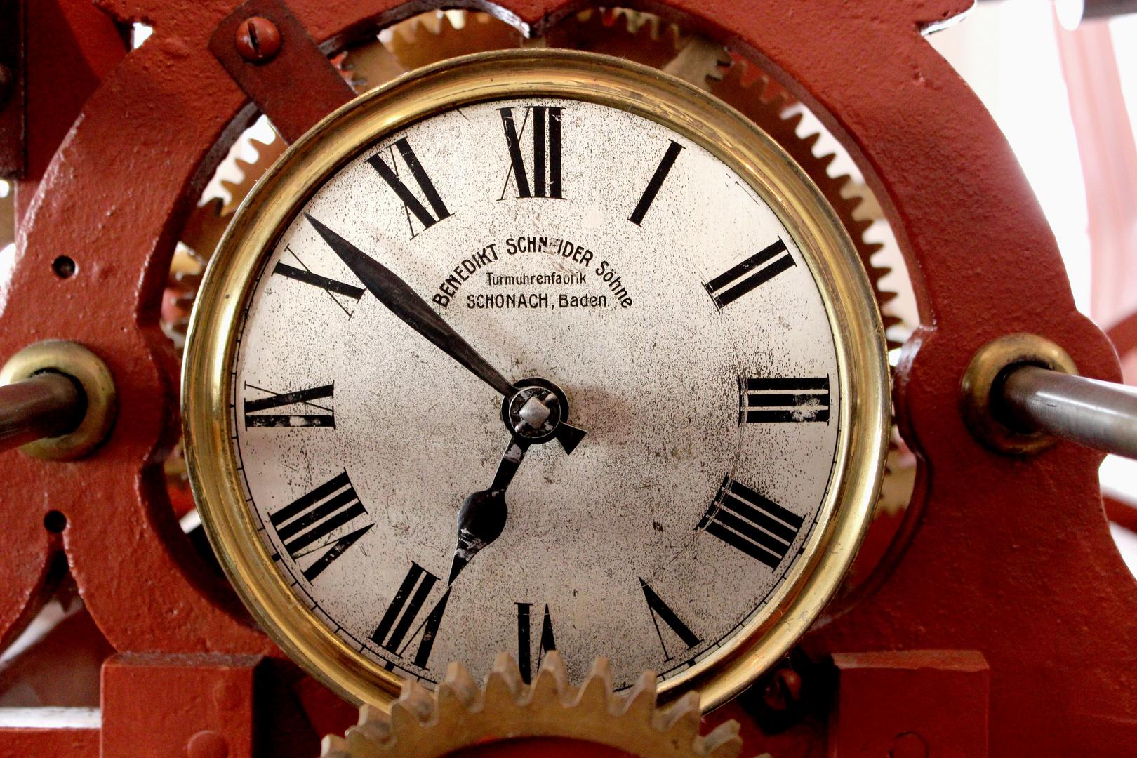 Uhrwerk historische Turmuhr