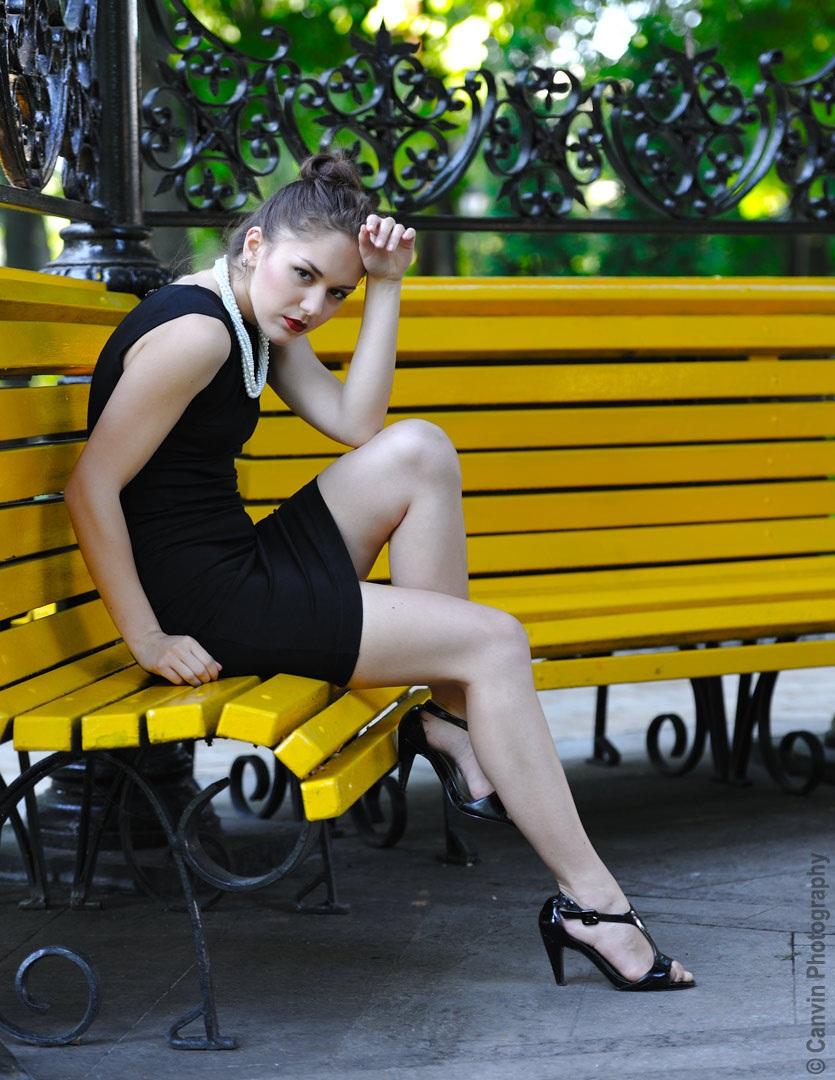 Ukrainische Model in Kiew