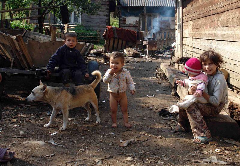 Ukrainisches Zigeunerdorf