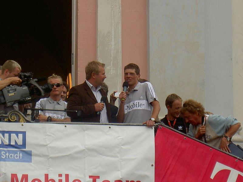 Ulle und Wino 2005 nach der Tour in Bonn