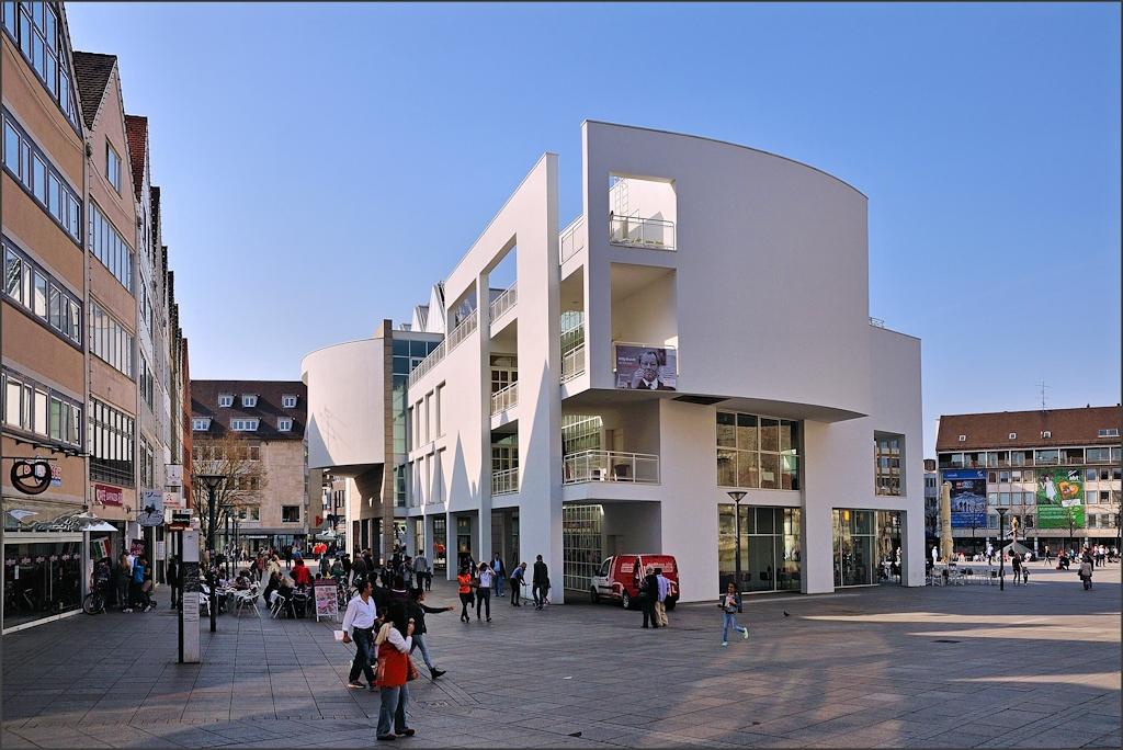 Ulm - Am Stadthaus