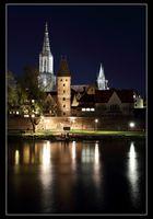 Ulm bei Nacht (II)