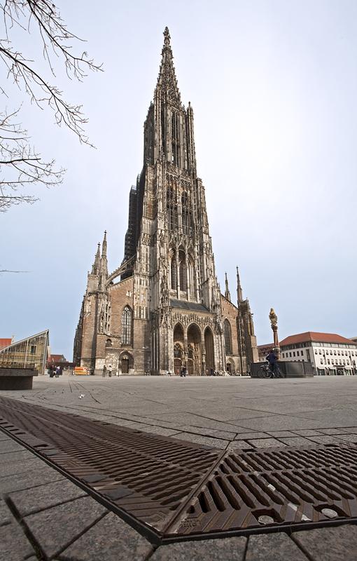 Ulmer Münster am Boden