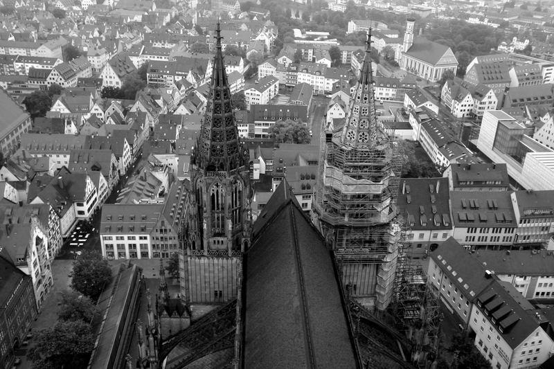 Ulmer Münster - Ansicht von oben 2