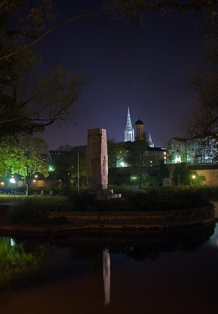Ulmer Münster in der Nacht V