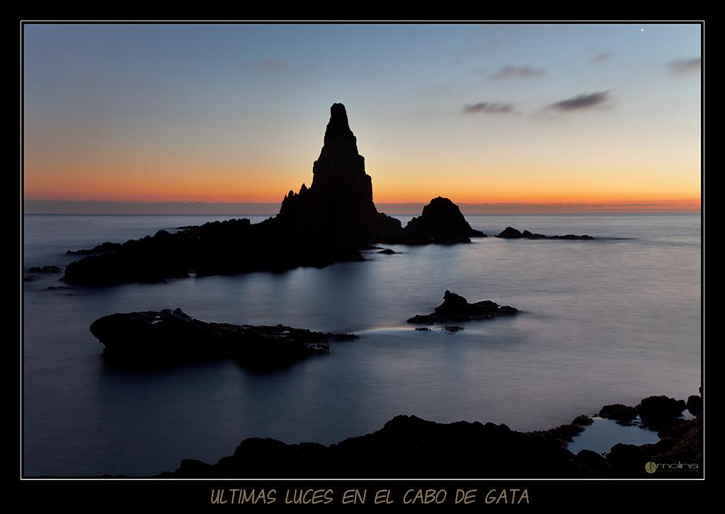 Ultimas luces en el Cabo de Gata
