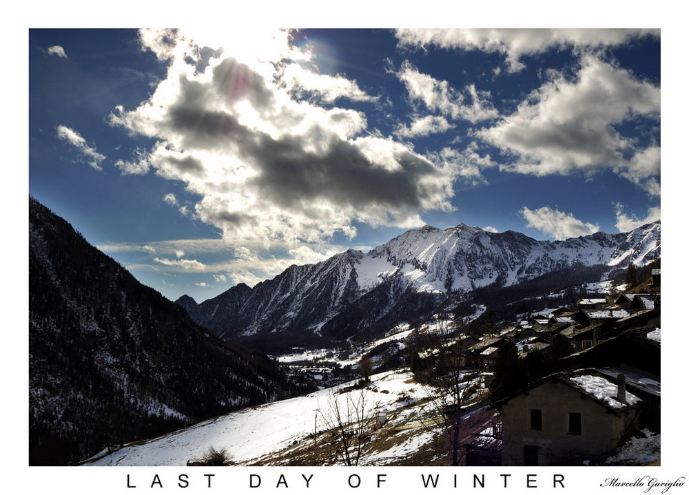Ultimi giorni d'inverno
