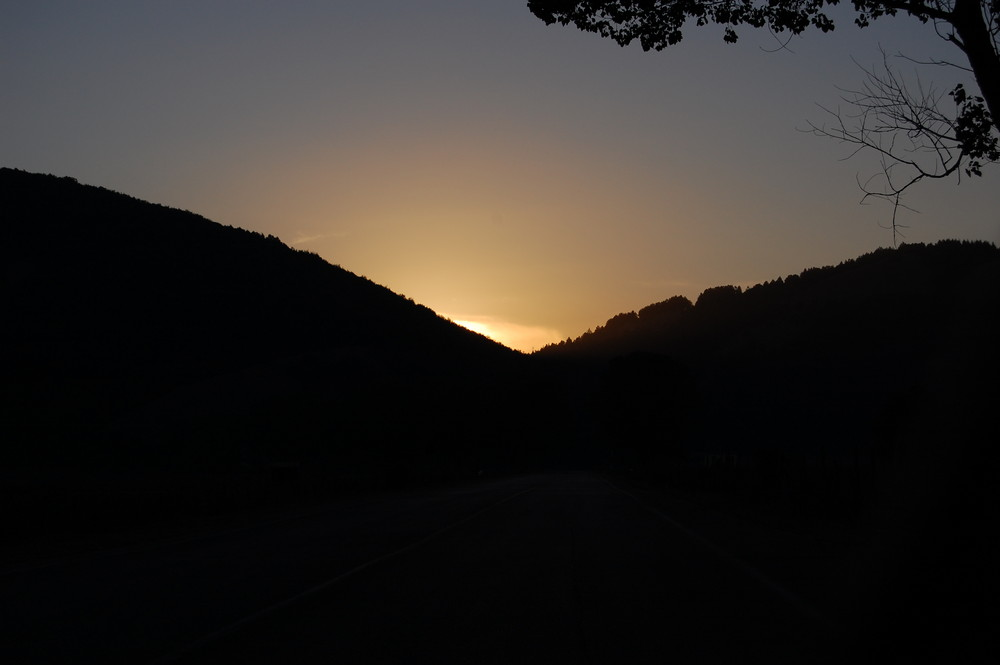 Ultimo sguardo del sole