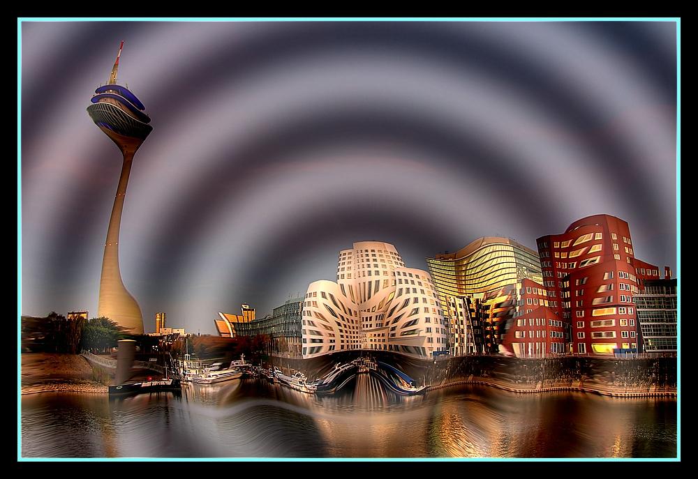 Ultraschall Hafenserie Düsseldorf