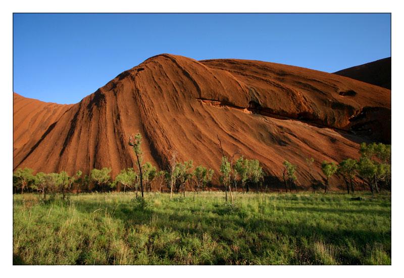 Uluru am Weihnachtsmorgen