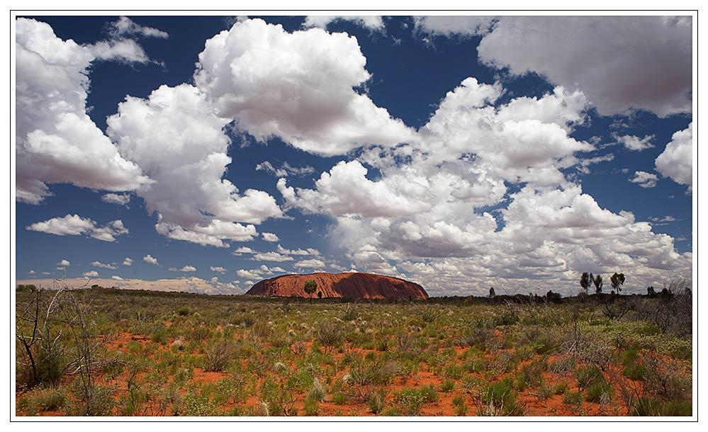 Uluru - Annäherung