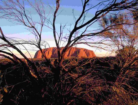 Uluru (Ayers Rock), Australien 98