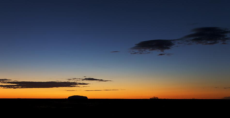 Uluru bei Sonnenaufgang