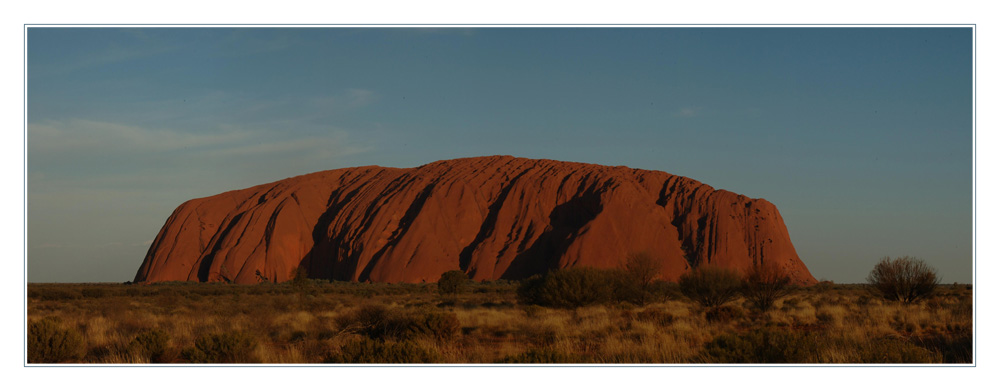 Uluru im Sonnenuntergang